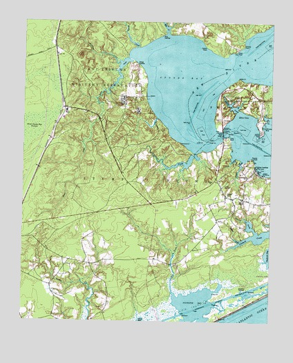 Sneads Ferry Nc Topographic Map Topoquest