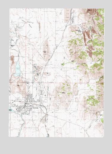 Soda Springs Id Topographic Map Topoquest