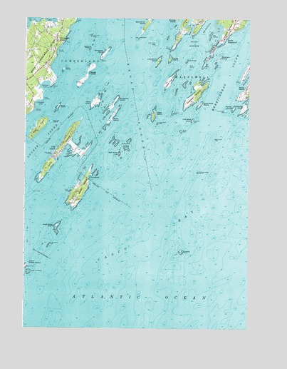 South Harpswell ME Topographic Map  TopoQuest