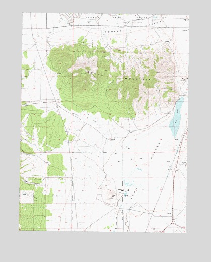South Mountain, UT USGS Topographic Map