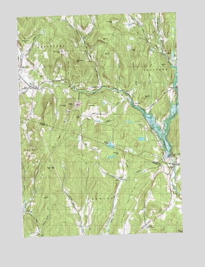 South Strafford, VT Topographic Map - TopoQuest