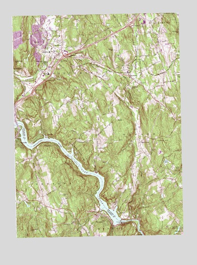 Southbury, CT Topographic Map - TopoQuest