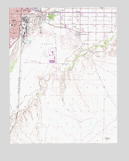 Southeast Pueblo, CO Topographic Map - TopoQuest