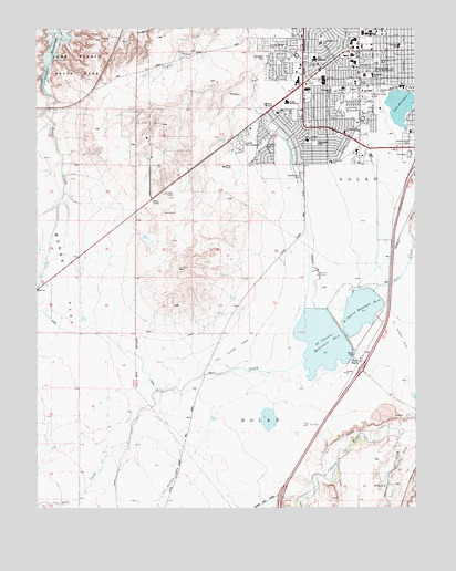Southwest Pueblo, CO Topographic Map - TopoQuest