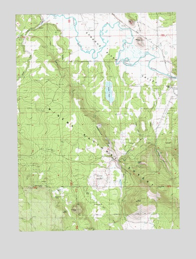 Sprague River West Or Topographic Map Topoquest