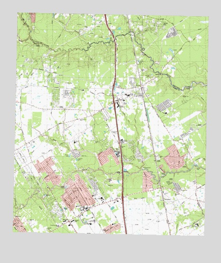 Spring TX Topographic Map TopoQuest - Topographical map of texas