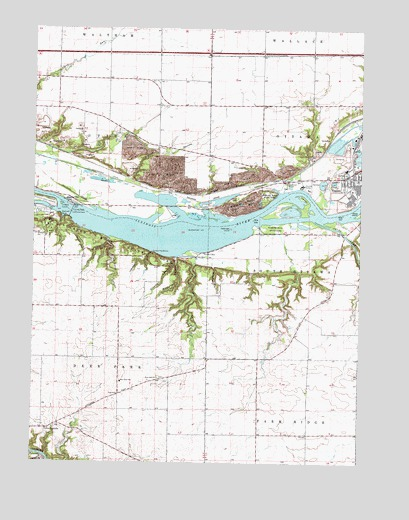 Starved Rock, IL USGS Topographic Map