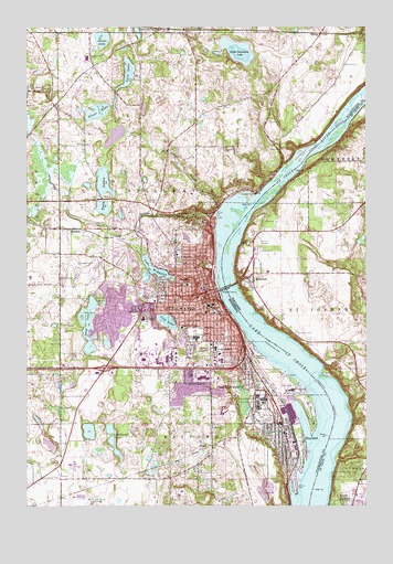 Stillwater, MN Topographic Map - TopoQuest