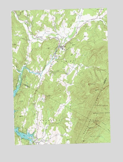 Stowe, VT Topographic Map - TopoQuest
