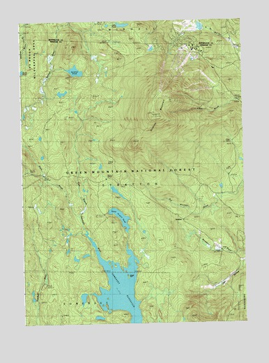 Stratton Mountain, VT Topographic Map - TopoQuest