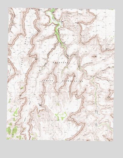 Supai Arizona Map.Supai Az Topographic Map Topoquest