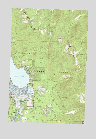Swan Lake Montana Map Submited Images  Pic2Fly