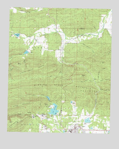 Talihina Oklahoma Map.Talihina Ok Topographic Map Topoquest