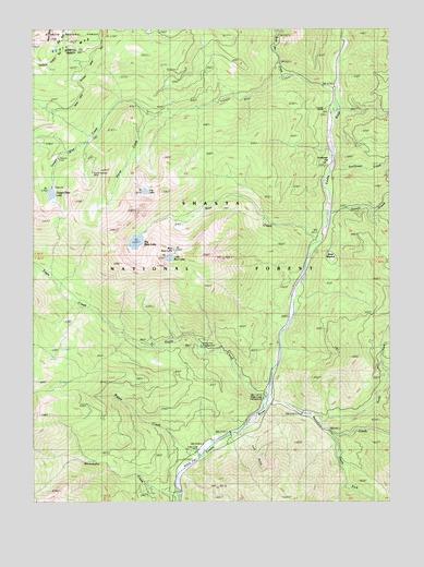 Tangle Blue Lake Ca Topographic Map Topoquest