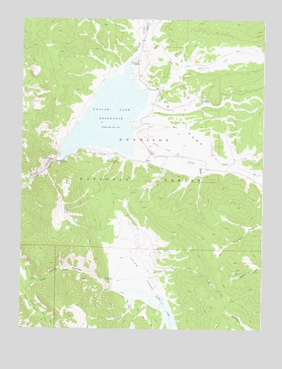 Taylor Park Colorado Map.Taylor Park Reservoir Co Topographic Map Topoquest