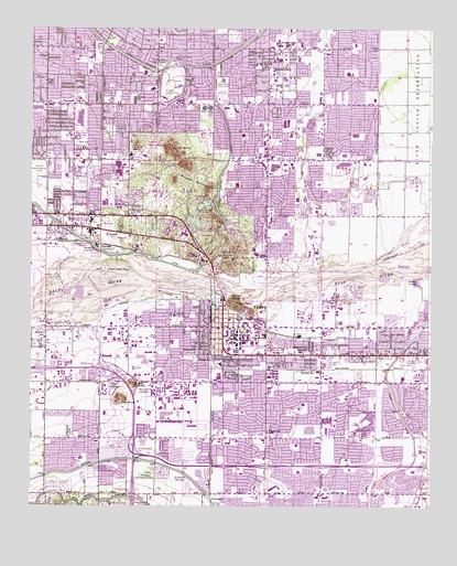 Topographic Map Arizona.Tempe Az Topographic Map Topoquest
