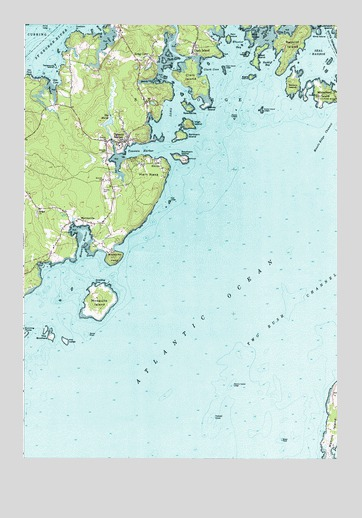 Tenants Harbor Maine Map.Tenants Harbor Me Topographic Map Topoquest