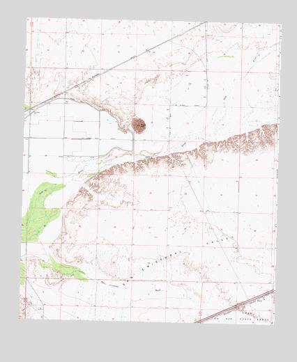 Texas Hill, AZ USGS Topographic Map