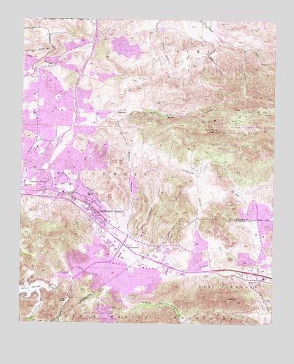 Thousand Oaks CA Topographic Map TopoQuest - Thousand oaks map