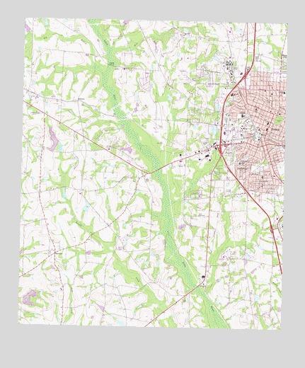 Map Of West Georgia.Tifton West Ga Topographic Map Topoquest