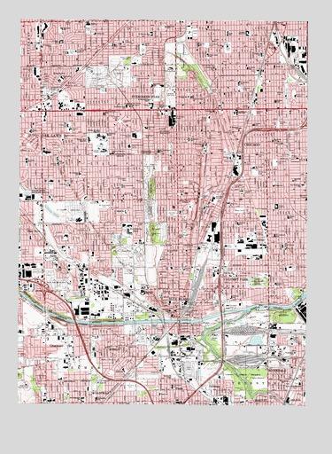 Blue Island IL Topographic Map  TopoQuest