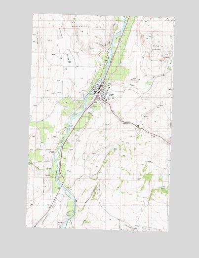 Tonasket Fire Map.Tonasket Wa Topographic Map Topoquest