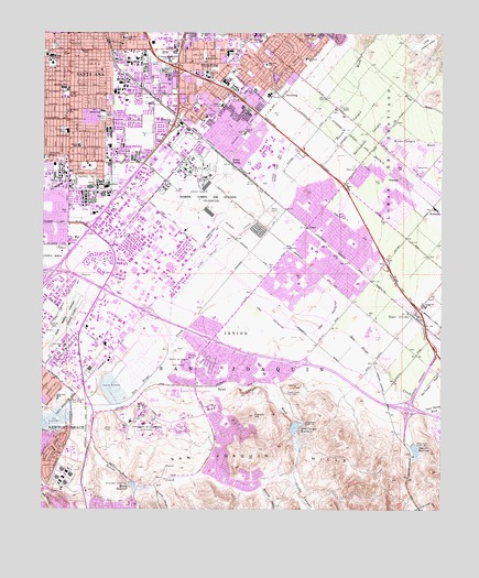 Tustin, CA Topographic Map - TopoQuest on city of rialto ca map, pasadena st tustin ca map, orange county tustin ca map,