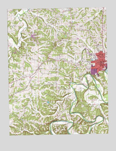 Union Mo Topographic Map Topoquest