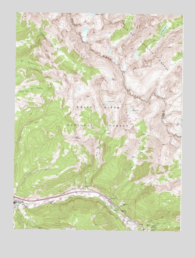 Vail East, CO Topographic Map - TopoQuest