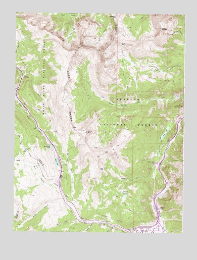 Vail Pass Co Topographic Map Topoquest