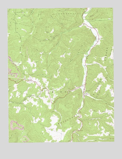 Valley Head, WV USGS Topographic Map