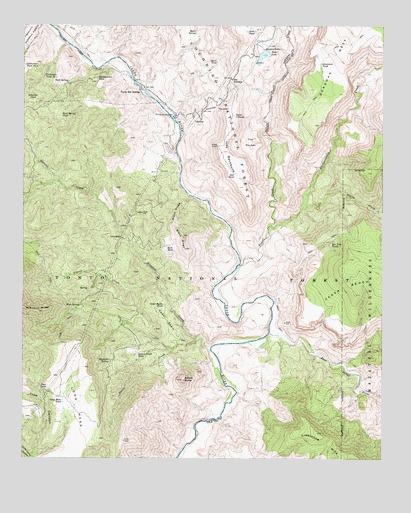 Map Of Arizona Hot Springs.Verde Hot Springs Az Topographic Map Topoquest