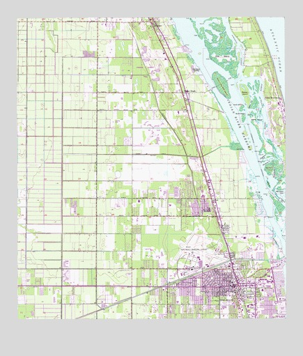 Vero Beach Fl Usgs Topographic Map