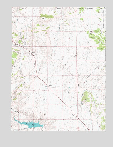 Virginia Dale, CO USGS Topographic Map