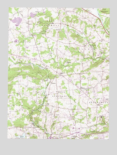 Wagontown, PA USGS Topographic Map