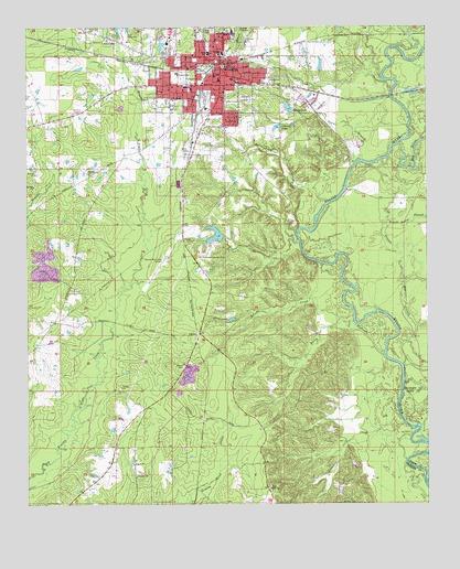 Warren Ar Topographic Map Topoquest