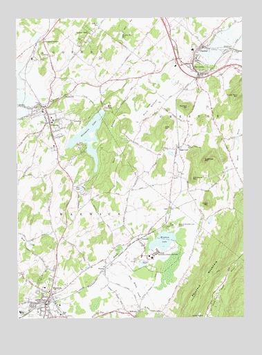 Warwick Ny Topographic Map Topoquest