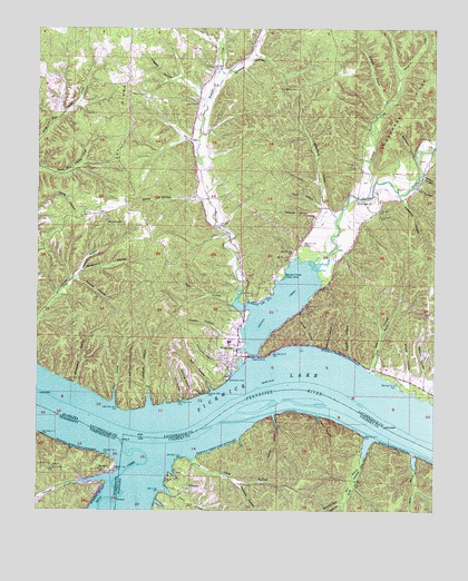 Waterloo, AL Topographic Map - TopoQuest