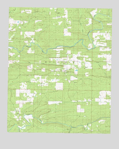 Watson, OK Topographic Map - TopoQuest on river's edge cottages watson ok, map of watson st, map of roland oklahoma,