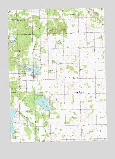 Weidman Mi Topographic Map Topoquest