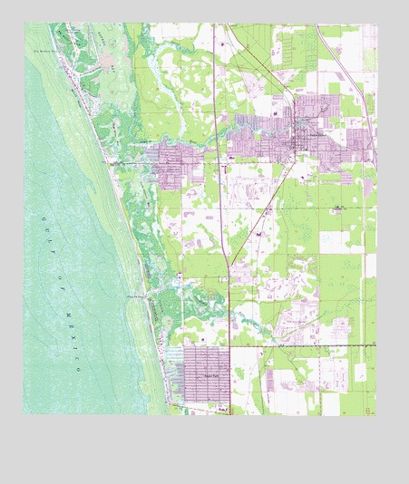 Bonita Springs FL Topographic Map TopoQuest - Topographical map of florida