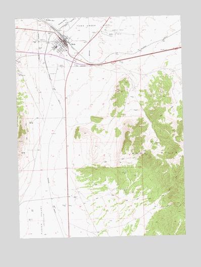 Wells NV Topographic Map  TopoQuest