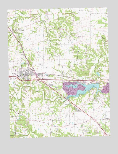 Wentzville Mo Topographic Map Topoquest