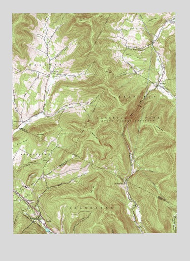 West Kill, NY USGS Topographic Map