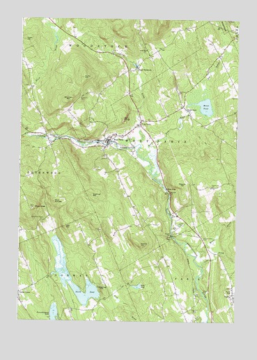Topo Map Of Maine.West Paris Me Topographic Map Topoquest