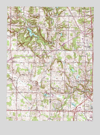 West Richfield Oh Topographic Map Topoquest