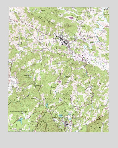 Boone, NC USGS Topographic Map