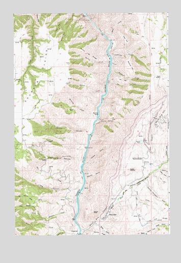 White Bird Id Topographic Map Topoquest