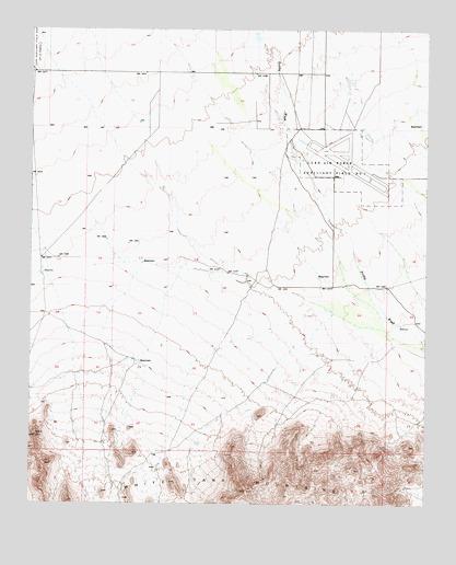 White Tank Mountains NE, AZ Topographic Map - TopoQuest