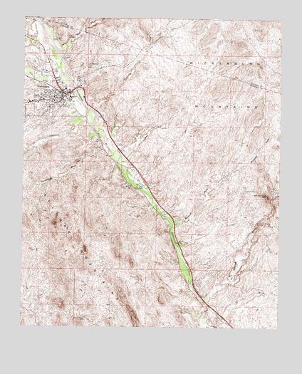 Wickenburg AZ USGS Topographic Map